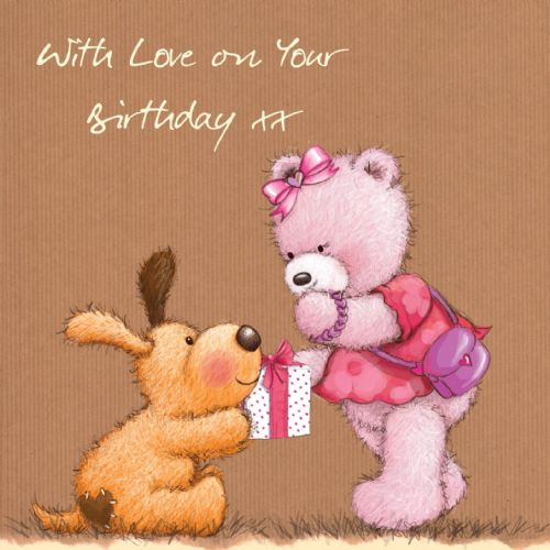 Birthday Bear With Love